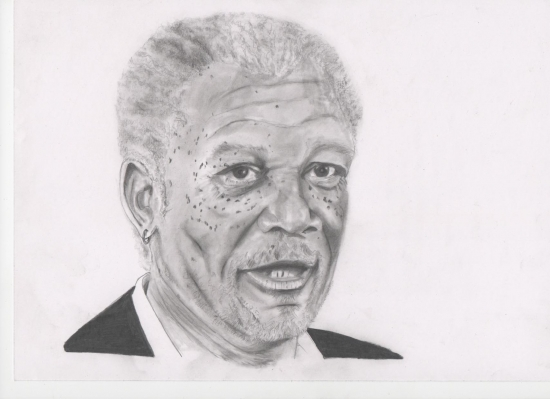 Morgan Freeman por zacke
